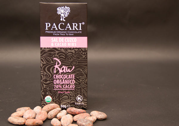 Raw Cuzco Pink Salt - Cacao Nibs and Coconut Sugar
