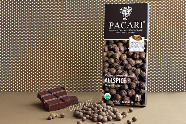 Allspice Dark Chocolate Bar | Pacari UK