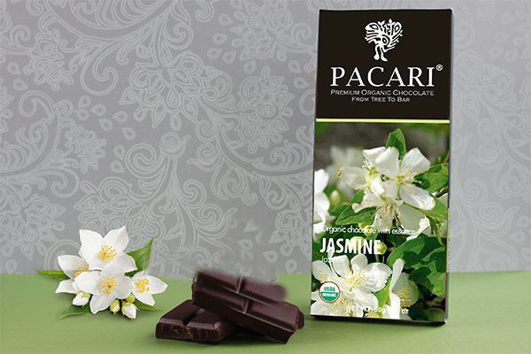 Organic Dark Chocolate with Jasmine