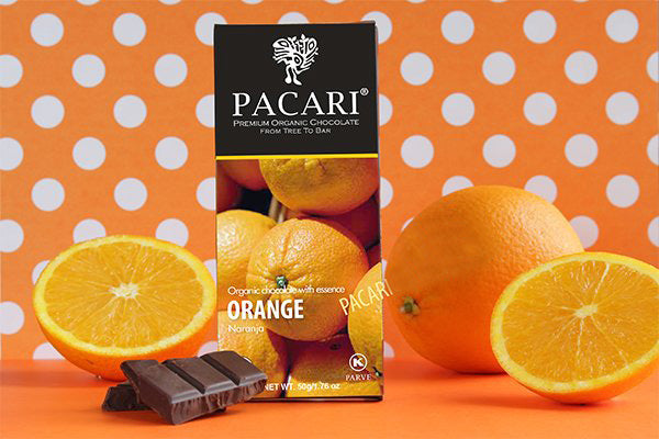 Orange Dark Chocolate Bar | Pacari UK