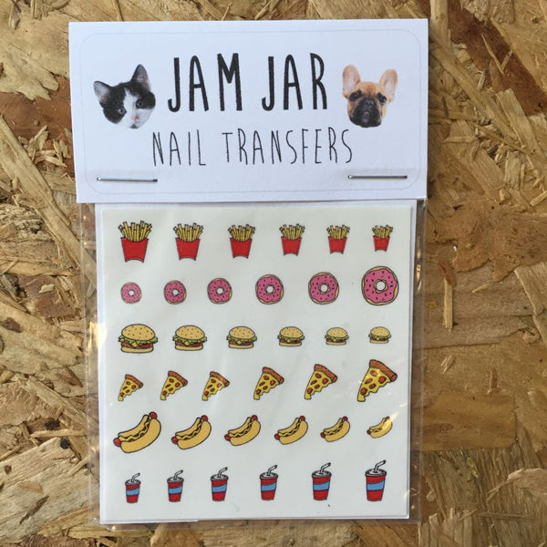 Fast Food Nail Transfers