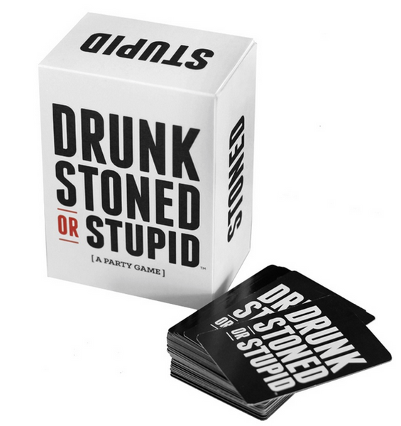 DRUNK, STONED, STUPID - a party game