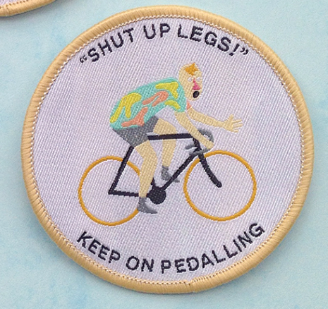 SHUT UP LEGS - embroidered patch