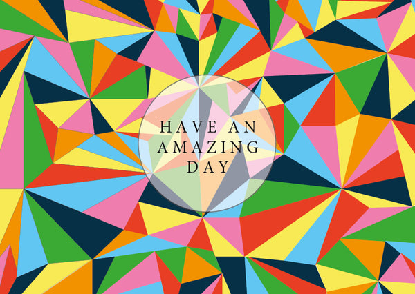 "GIFT CARD BY EMAIL ""Have an amazing day"""