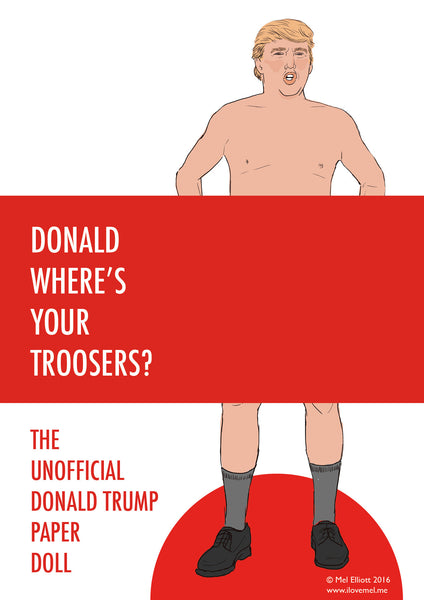 DONALD TRUMP PAPER DOLL DOWNLOAD - FREE!