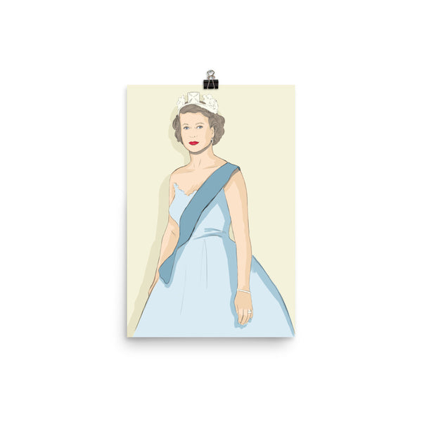 'OUR LIZ' Unframed Print