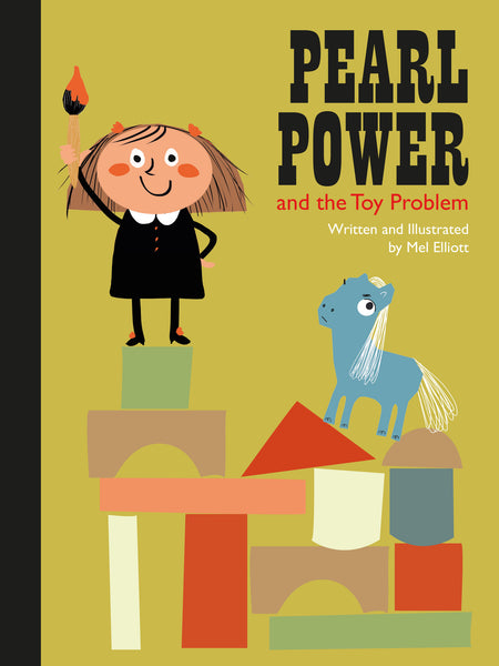 PEARL POWER & THE TOY PROBLEM - children's Story Book