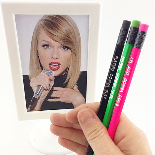 Shake It Off Pencils