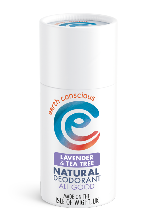 Lavender & Tea Tree Natural Deodorant Stick