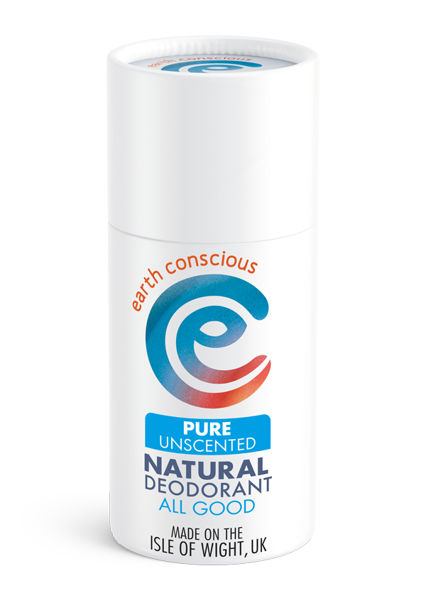 Pure Unscented Natural Deodorant Stick