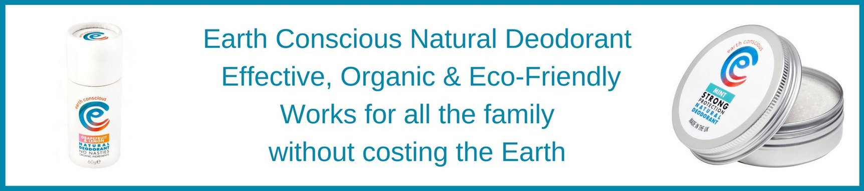 Earth Conscious Natural Deodorant