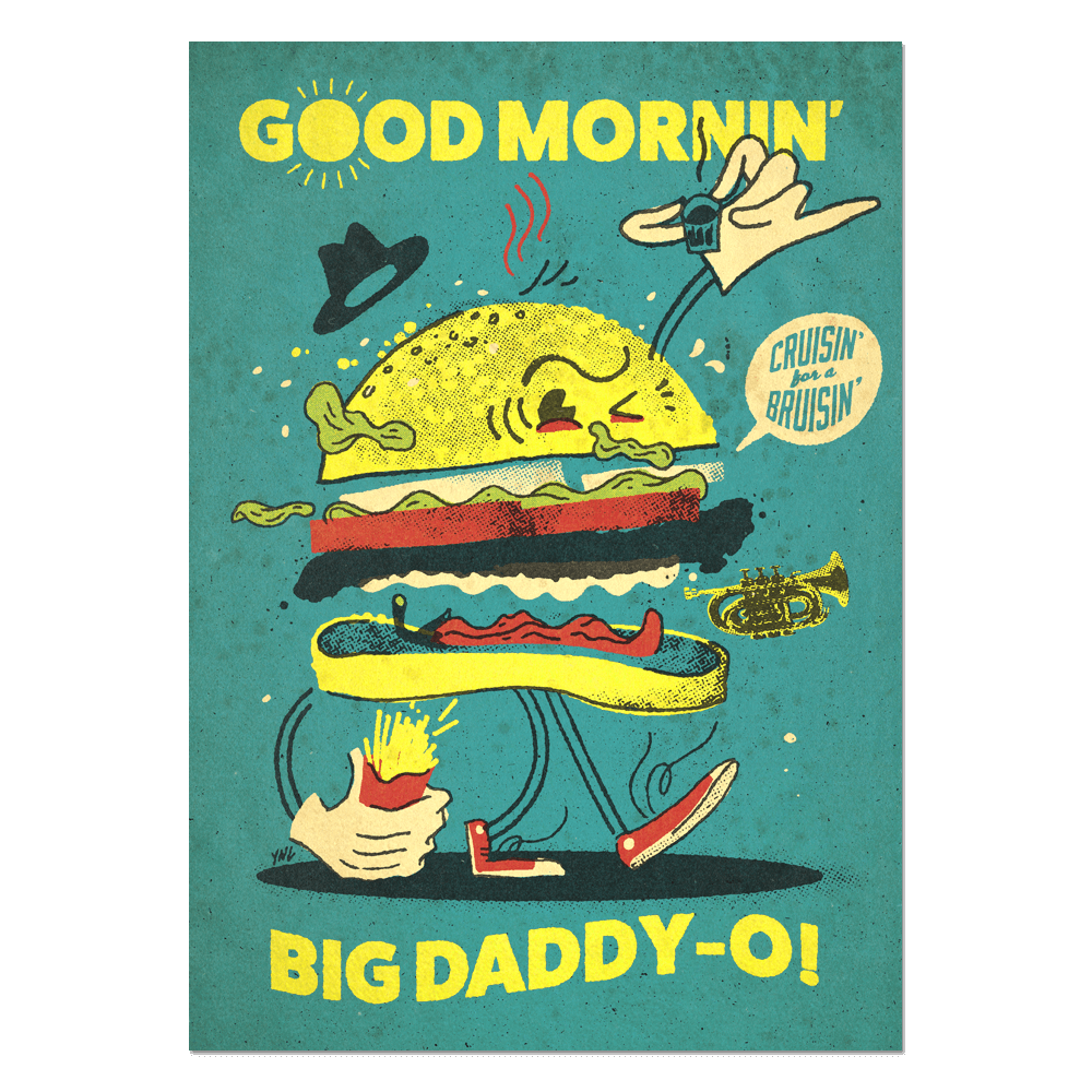 """Good Mornin'"" Print"
