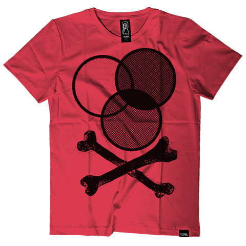 """CMYX"" (Red) T-Shirt T-shirts- YONIL 