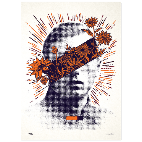 """Hero"" Print Print- YONIL 