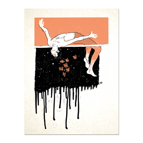 """Highjump"" Print Print- YONIL 