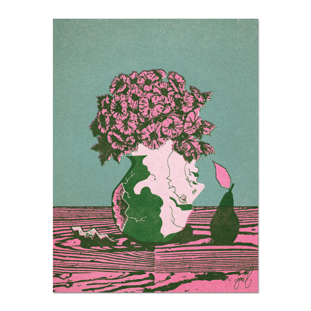 """Late Valentine"" Print Print- YONIL 