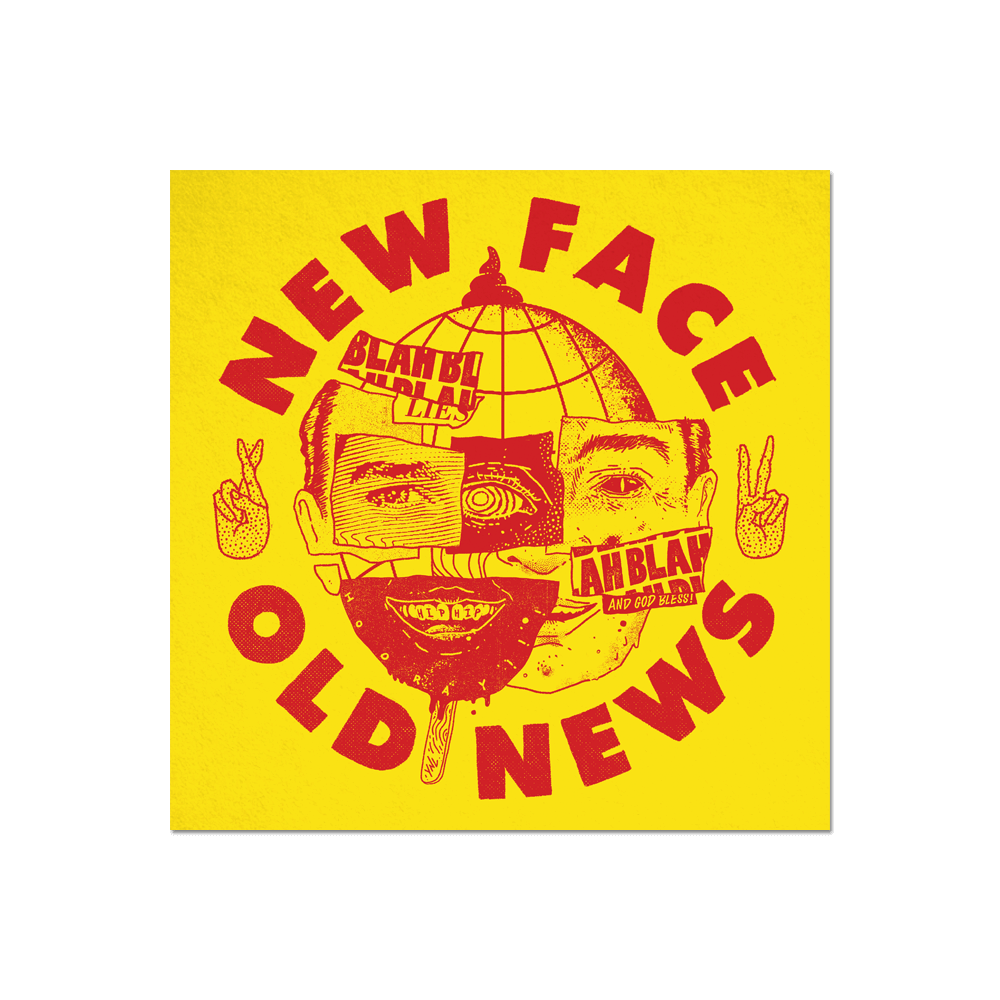 """New Face Old News"" Print Print- YONIL 