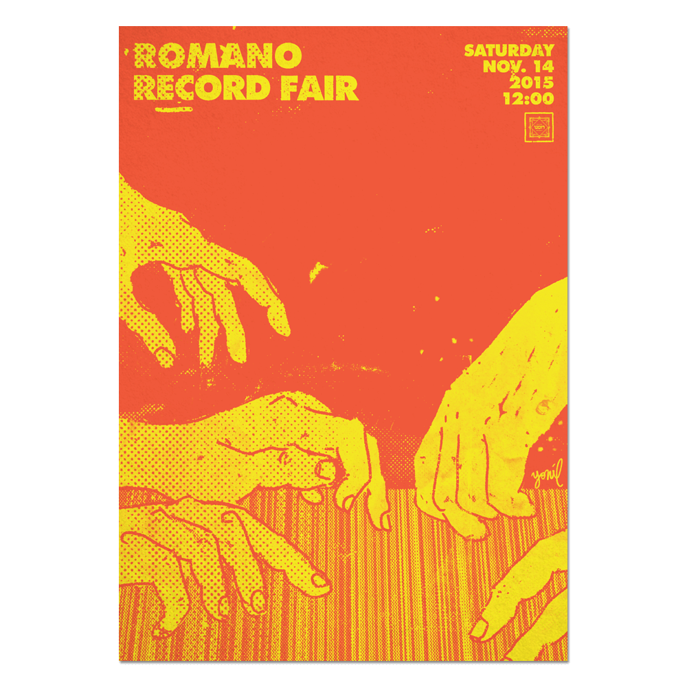 Romano Record Fair #1 Print Print- YONIL | The Store