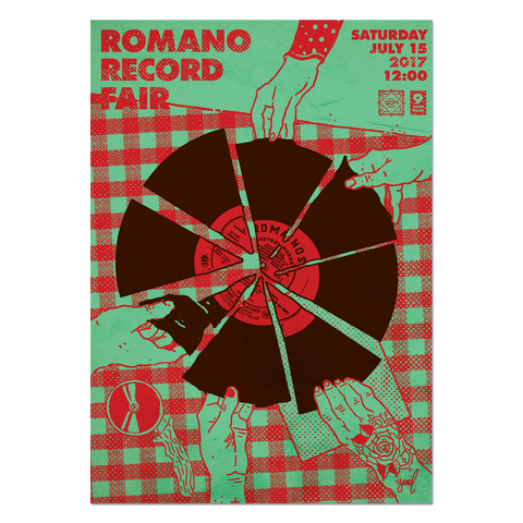 Romano Record Fair #5 Print Print- YONIL | The Store