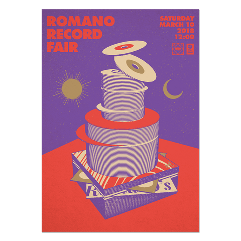 Romano Record Fair #6 Print Print- YONIL | The Store