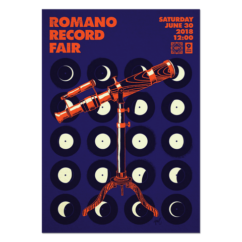 Romano Record Fair #7 Print Print- YONIL | The Store