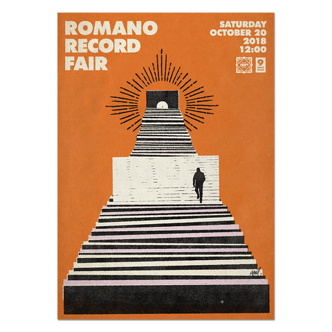 Romano Record Fair #8 Print Print- YONIL | The Store
