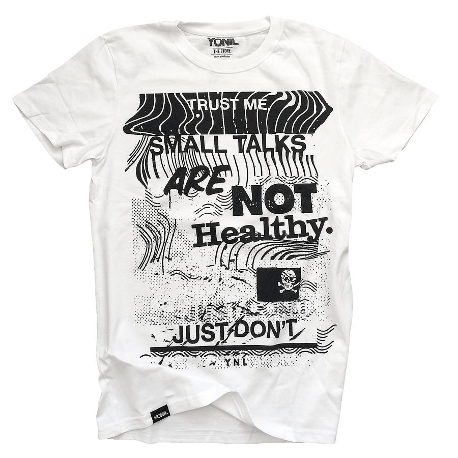 """Small Talks"" T-Shirt T-shirts- YONIL 