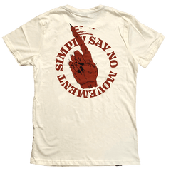 """Simply Say No Movement"" (Hell No!) T-Shirt T-shirts- YONIL 