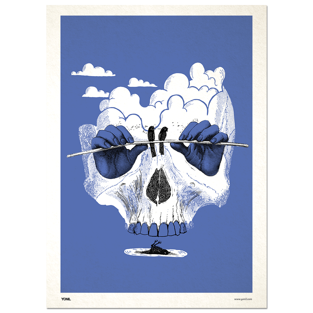 """Sleight of Hand"" Print Print- YONIL 