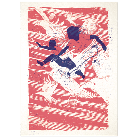 """The Leap"" Print Print- YONIL 