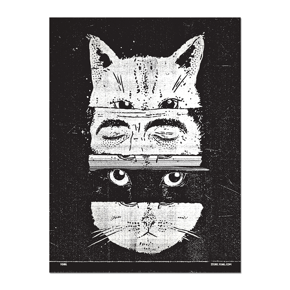 """The Cats"" Print Print- YONIL 