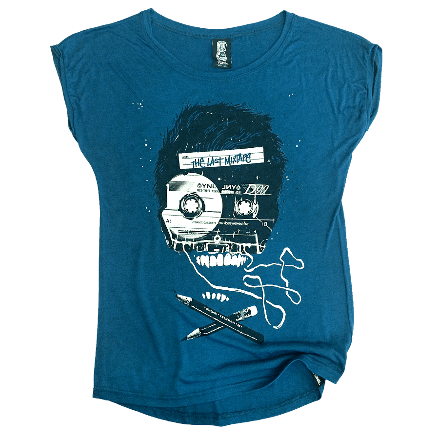 """The Last Mixtape"" Women T-Shirt T-shirts- YONIL 