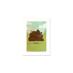 "Toilet Series #1 - ""Poo"" Print Print- YONIL 
