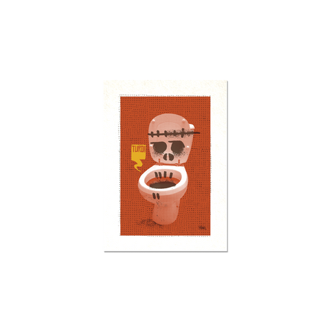 "Toilet Series #2 - ""Turd"" Print"