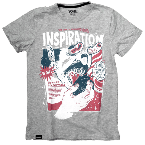 """Uninspired #3"" T-Shirt T-shirts- YONIL 