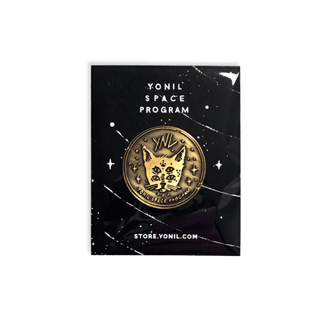 """YONIL SPACE PROGRAM"" Bronze Pin Goods- YONIL 
