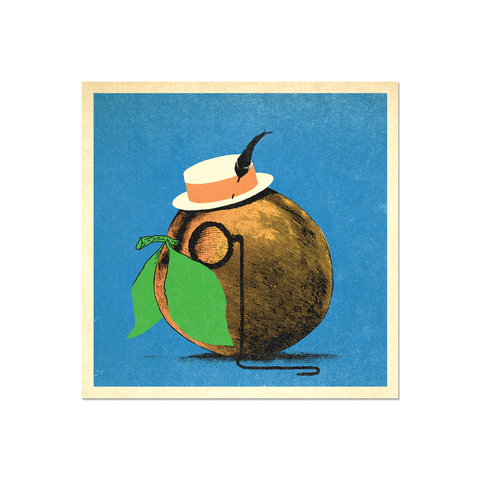 "Many Things Series - ""A Peach"" Print Print- YONIL 