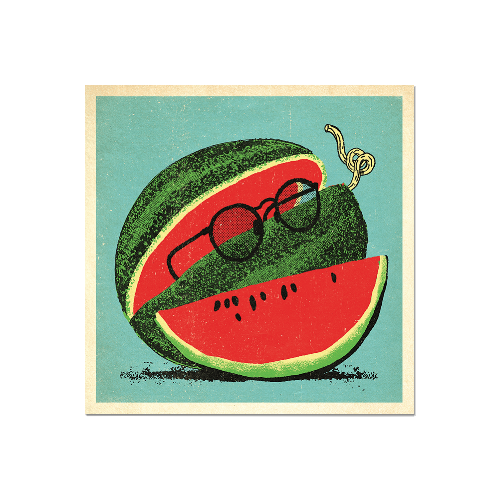 "Many Things Series - ""A Watermelon"" Print"