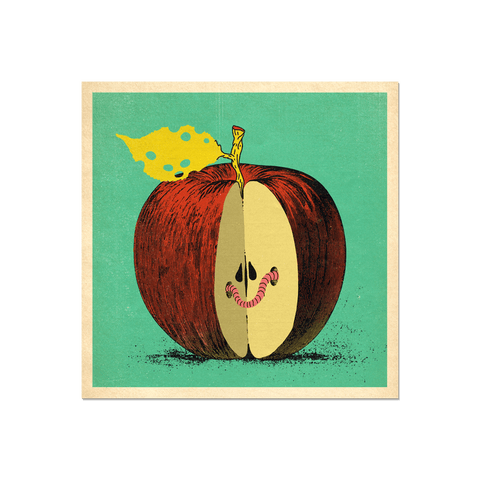 "Many Things Series - ""An Apple"" Print"