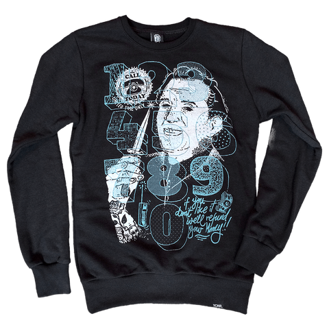 """Call Now"" Sweatshirt Sweatshirts- YONIL 