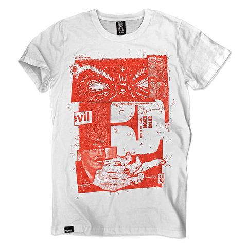 """E for EVIL"" T-Shirt T-shirts- YONIL 