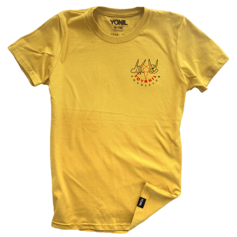"""YOYONIL yoyo club"" (Yellow) T-Shirt T-shirts- YONIL 