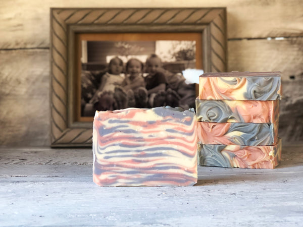 Pink & Blue Lines Soap