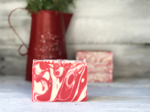 Peppermint Swirl Soap