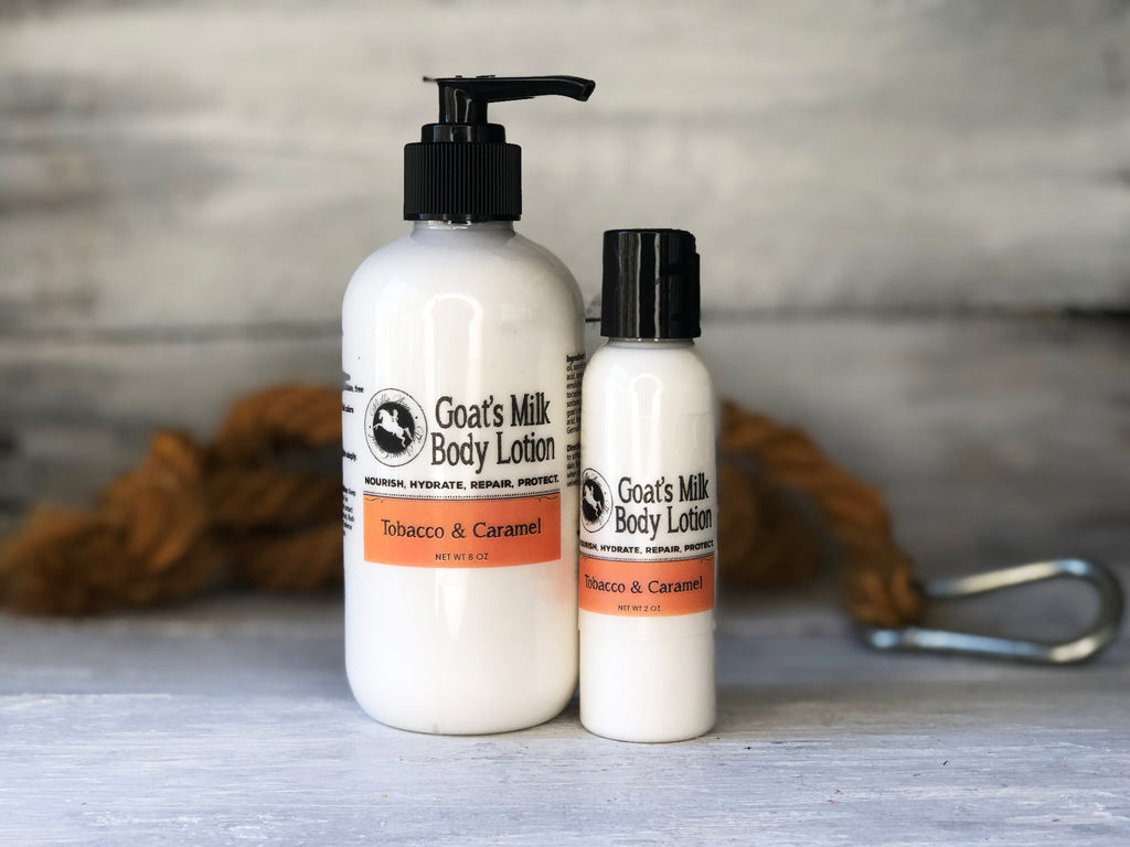 Goat's Milk Body Lotion - Tobacco & Caramel