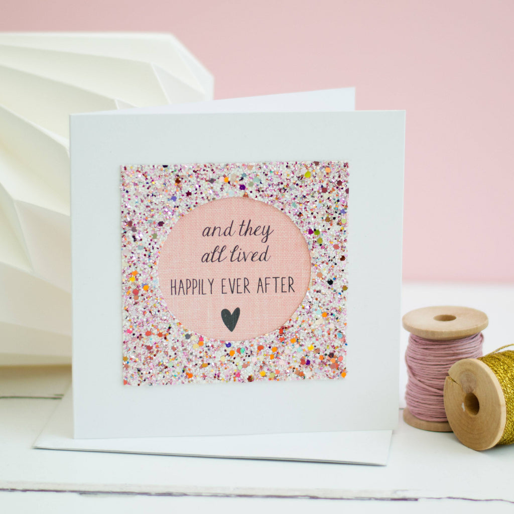 Rachel & George Greetings Card Wedding Day Card