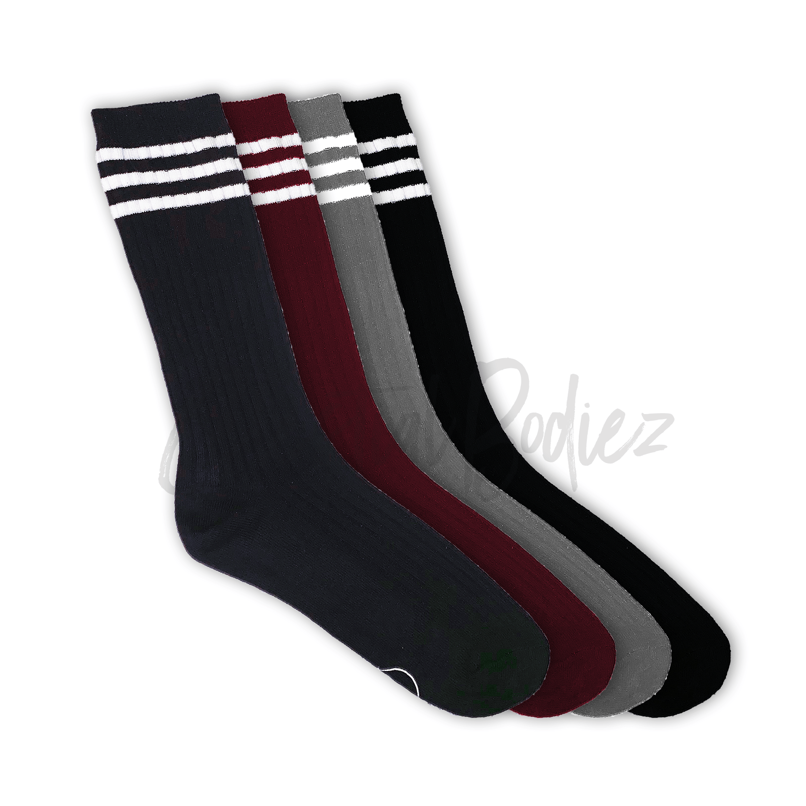 Retro Striped Tube socks