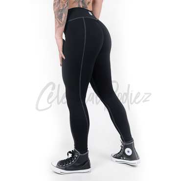 High Waist Obsidian Pocket Leggings