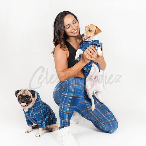 Preppy Plaid Pet Pullover