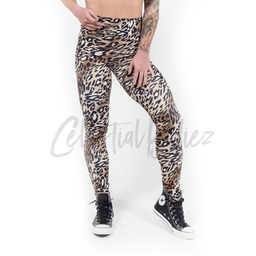 High Waist Welcome-to-the-Jungle Leggings